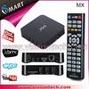 MX2 Smart TV BOX radio av receiver