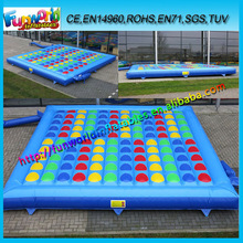 2014 Blue Inflatable Twister Game, Twister Mat Inflatable For Kid,Adult