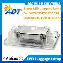 Auto Lugguage Light Glove Box Light for BMW E46 E36 E38 E39 E60 LCI E61 E65 E66 E67 E68 E82 Number Plate
