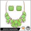 2014Latest Fashion Design Charm Set Necklace Gemstone Beautiful Necklace