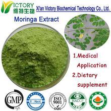 100% Organic Pure Rich Vitamin C freeze dried moringa leaf powder