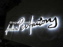 LED illuminated advertising sign letter for USA