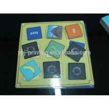 Laminación de la película magnética juegos de mesa / guangzhou impresión de tarjetas de juego fabricación