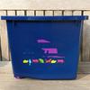 2 Wheels design removable 15kg pet food container