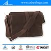 Leather men messenger shoulder bag