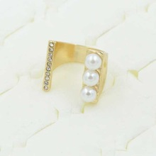 unique infinity symbol rings with pearl dragon ring jewelry for young men