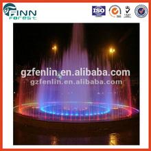 4 Tier outdoor decorative musical artificial water fountain