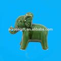 de jardin en céramique éléphant