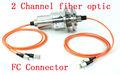De fibra óptica de anillo deslizante junta / FORJ con 2 canales de fibra multimodo