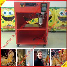 FACTORY PRICE AUTOMATIC sugar art painting machine/syrup painting machine