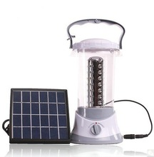 TSL798B 3W Solar Panel Solar Powered LED Lantern with Solar&Grid Power Source