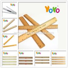 YOYO R001 HOT Sales For School 30cm Straight Wooden Ruler