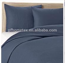 60% bamboo / 40% cotton blue color Duvet Cover Set