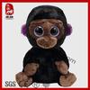 China manufacturer plush material big eyes animal toy stuffed gorilla