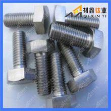 DIN933 hex head full thread titanium screw