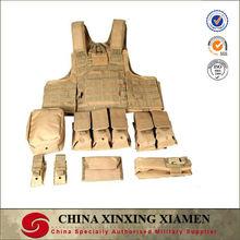 quick release khaki Military Tactical vest