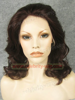Queen lovely new hair style synthetic lace front wig