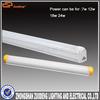 24W 120cm aluminum & pc housing AC 220V 3000K t5 led tube fitting illuminate