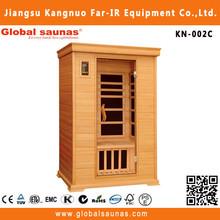 Canada wooden house outdoor far infrared sauna finnish