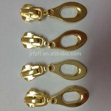 direto da fábrica de revestimentos saias baratos personalizado metal slider do zipper eo extrator
