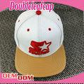 La costumbre baratos 5- panel ajustable yupoong tapa snapback/sombrero de europa