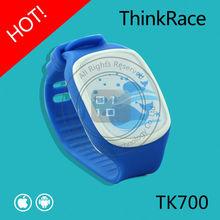 Thinkrace wrist kids watch phone with gps tracking TK700