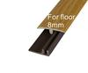 PVC floor edge strip//PVC T-moulding trim//laminate Cover//Laminate transition