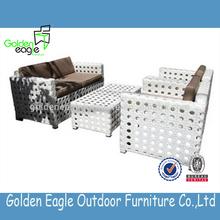 high quality rattan sectional sofa/double divan sofa set