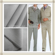 alibaba China hot sale dyed uniform fabric poly cotton twill fabric