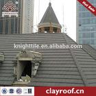 grey flat style villa ceramic tile roofing