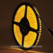China LED light 3mm 54LEDs/m Yellow Lighting Flexible light strip
