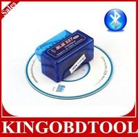 20pc/lot manufacture price MINI ELM327 Bluetooth OBD2 V1.5,Super well Super MINI ELM327 Bluetooth OBD2 V1.5 ELM 327 OBD2/OBD II