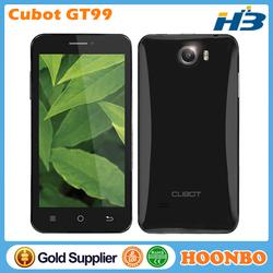 MTK6589 Smart Phone Cubot GT99 Mobile Phone Quad Band Mobile Phone Quad Core MTK6589 Smartphone 4.5Inch