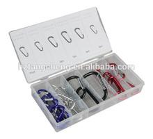 Fashion Carabiner Assortment Kit TC BV Certification 25pc Fashion Carabiner