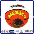 hto venta promocional de logotipo personalizado de baloncesto de goma fuerte