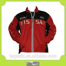 custom made winter sports motorbike jacket for F1 racing team