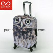 Gift neoprene batman children rolling luggage case spandex Alibaba