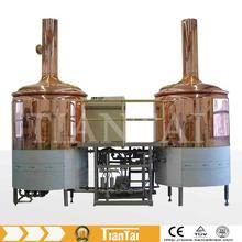 mini,bar,craft,copper,200L-1000L beer brewing equipment