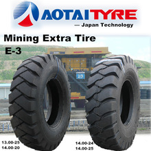 high quality 1400-20 1300-25 otr tire E3 pattern