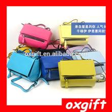 OXGIFT Fashion Korean Women PU Leather Messenger Bag Tote Shoulder Bag Lace Handbag NEW