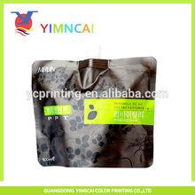 plastic biodegradable bag for liquid