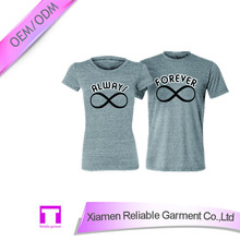 High quality couple shirts design for lovers OEM service