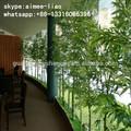 q092814 casamento artificial decoração parede verde china atacado artificial de bambu