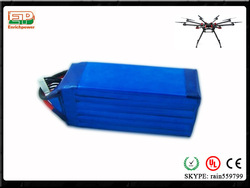 The highest discharge rate and capacity 65C 20000mah 6S NANO-TECH Lipo soft pack For RC airplane