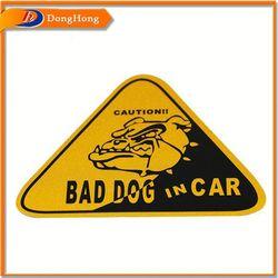 Car Warning Sticker,Car Roof Sticker
