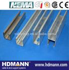 Factory price u channel steel sizes
