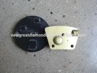 PCD epoxy flooring coating removal tools