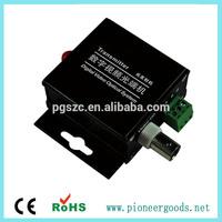 2 channel fiber optical converter audio video/fiber optic audio converter for the base station