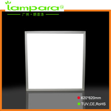 China guangzhou manufacturer modern design surface mounted hospital lighting led panel 600*600