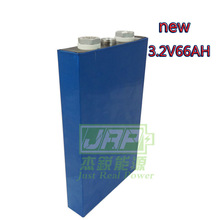 Brand New Large capacity 3.2V 66Ah LifePo4 battery cell for EV HEV and Solar battery